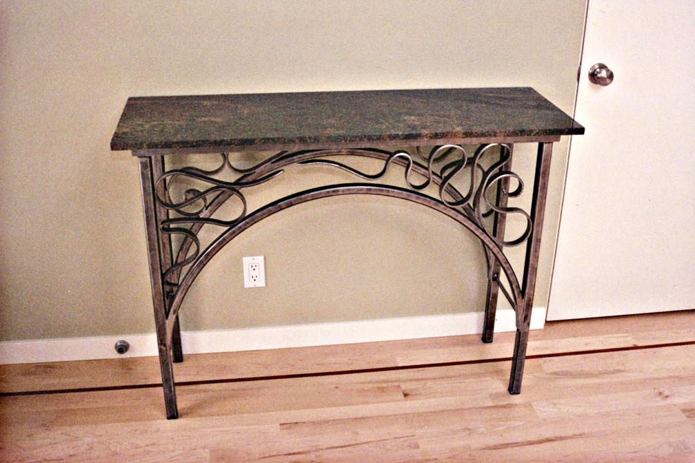 ... Art Nouveu Style Console Table ...