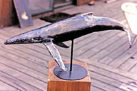 Welded Steel Humpback Whale