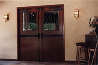 Restaurant Entrance Doors