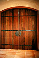 Entrance Doors for a Day Spa