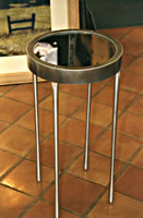 Aluminum Cigarette Table