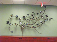 Grape Wall Panel Sculpture