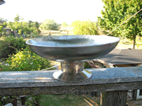 Large Bowl with Tall Stem