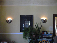 Nautilus sconces