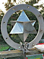 Star Tetrahedron Wind Spinner